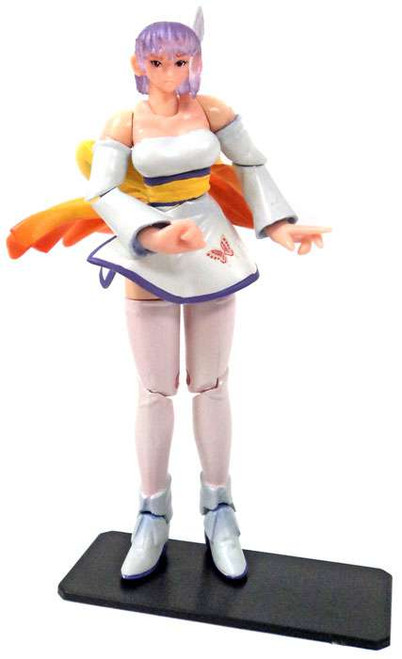 Dead or Alive Super Articulated Ayayne Mini FIgure [White]