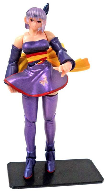 Dead or Alive Super Articulated Ayayne Mini FIgure [Purple]