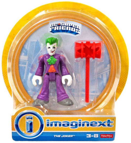 Fisher Price DC Super Friends Imaginext The Joker 3-Inch Mini Figures