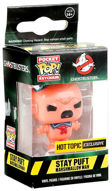 Funko Ghostbusters Pocket POP! Stay Puft Marshmallow Man Exclusive Keychain