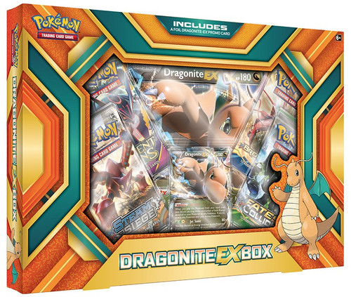 Pokemon Trading Card Game XY Dragonite EX Box [4 Booster Packs, Promo Card & Oversize Card!]