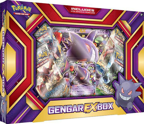 Pokemon Trading Card Game XY Gengar EX Box [4 Booster Packs, Promo Card & Oversize Card!]