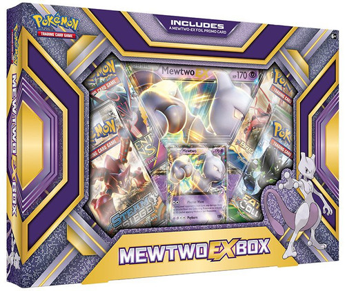 Pokemon Trading Card Game XY Mewtwo EX Box [4 Booster Packs, Promo Card & Oversize Card!]