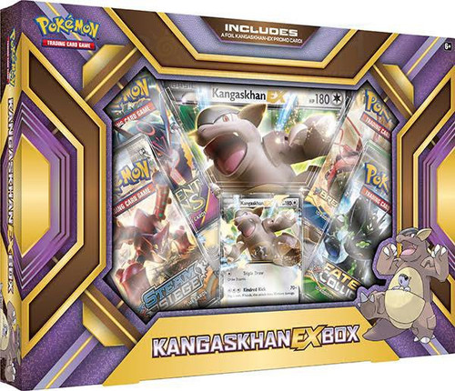Pokemon Trading Card Game XY Kangaskhan EX Box [4 Booster Packs, Promo Card & Oversize Card]