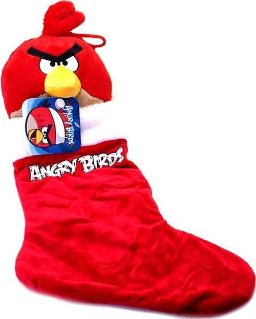 Angry Birds Red Bird Christmas Stocking