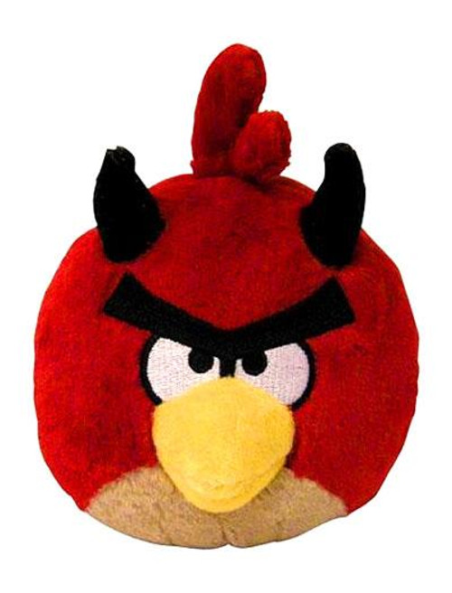 Angry Birds Red Devil 5-Inch Plush [Halloween]