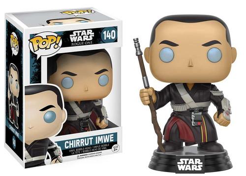 Funko Rogue One POP! Star Wars Chirrut Imwe Vinyl Bobble Head #140