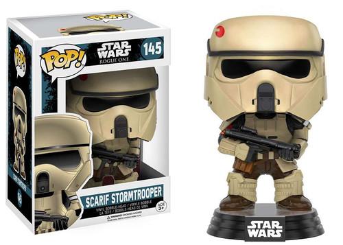 Funko Rogue One POP! Star Wars Scarif Stormtrooper Vinyl Bobble Head #145