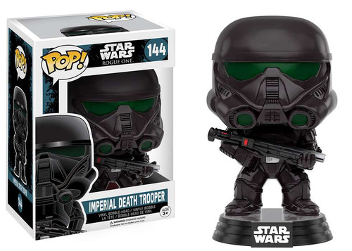 Funko Rogue One POP! Star Wars Imperial Death Trooper Vinyl Bobble Head #144