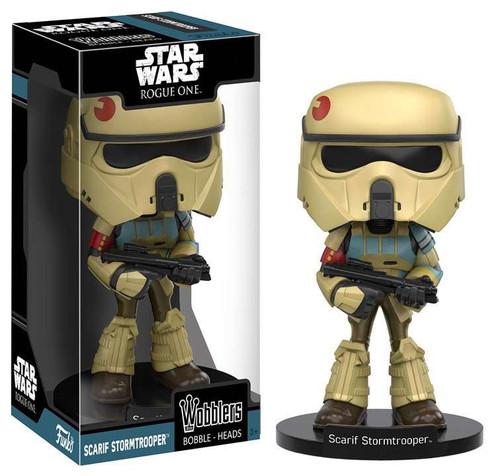 Funko Star Wars Rogue One Wobblers Scarif Stormtrooper Bobble Head