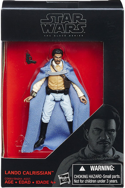 Star Wars Return of the Jedi Black Series Lando Calrissian Action Figure [Blue Cape]