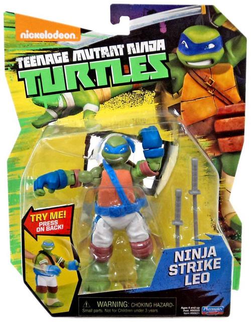 Teenage Mutant Ninja Turtles Nickelodeon Ninja Strike Leo Action Figure