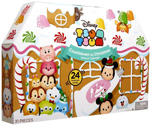 Disney Tsum Tsum 2016 Advent Calendar Set [Countdown to Christmas]