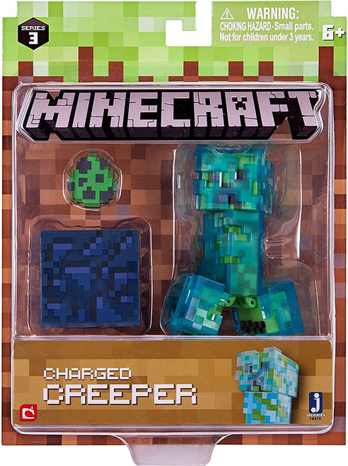 Minecraft Series 3 Charged Creeper Action Figure Set