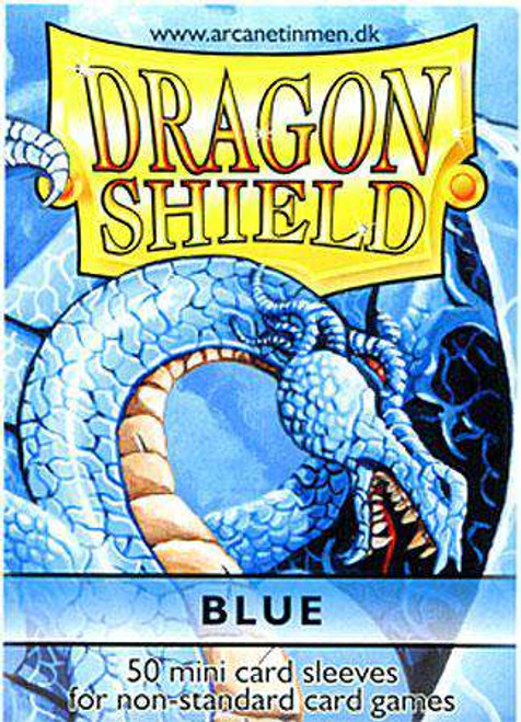 Card Supplies Dragon Shield Blue Small Card Sleeves [50 Count]