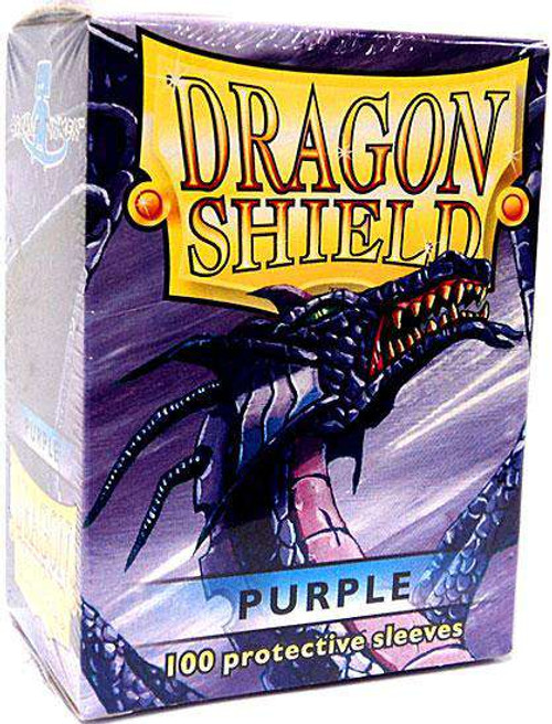 Card Supplies Dragon Shield Purple Standard Card Sleeves [100 Count]