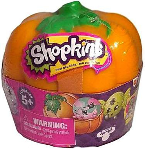 Shopkins Halloween Pumpkin Mystery Pack