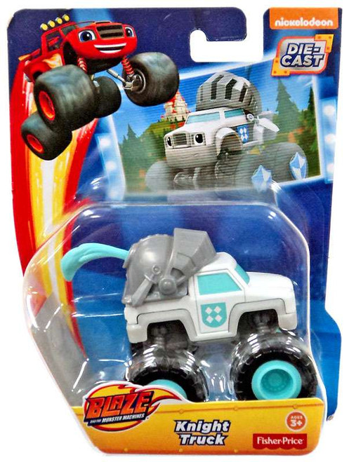 Fisher Price Blaze & the Monster Machines Knight Truck Diecast Car