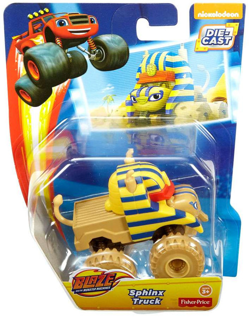 Fisher Price Blaze & the Monster Machines Sphinx Truck Diecast Car