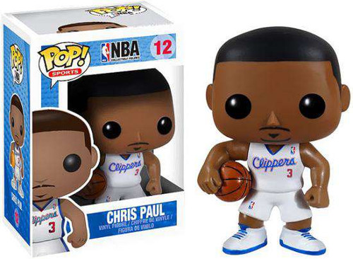 Funko NBA POP! Sports Basketball Chris Paul Vinyl Figure #12 [Damaged Package]