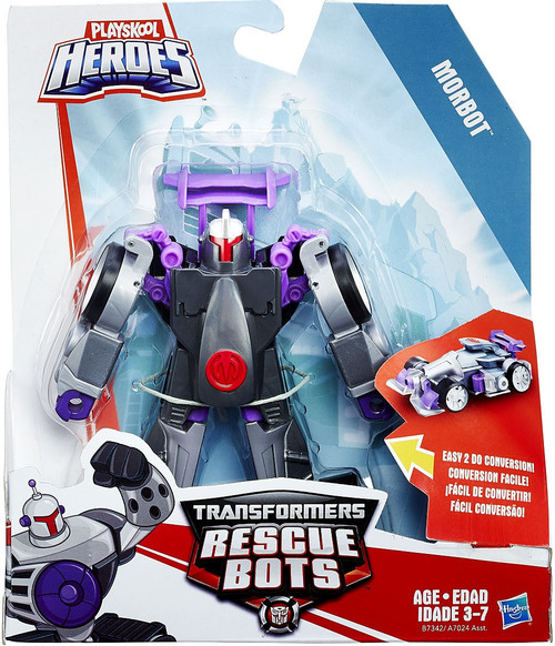 Transformers Playskool Heroes Rescue Bots Morbot Action Figure [Rescan 2016]