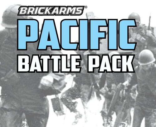BrickArms Pacific Battle Pack 2.5-Inch Weapons Pack