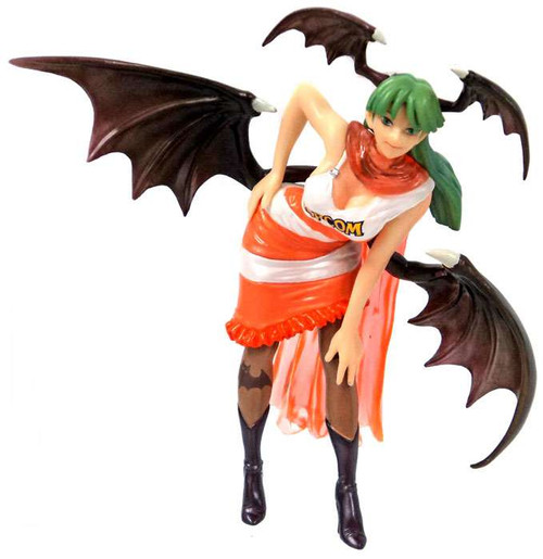 Capcom Companion Characters Morrigan PVC Figure [Orange]