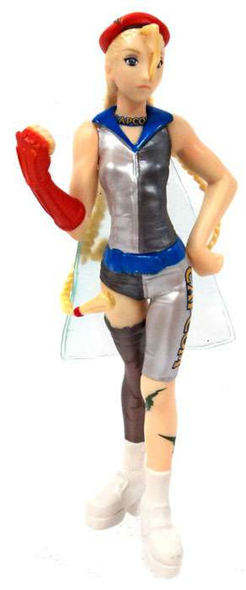 Capcom Companion Characters Cammy PVC Figure [Blue]