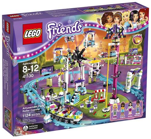 LEGO Friends Amusement Park Roller Coaster Set #41130