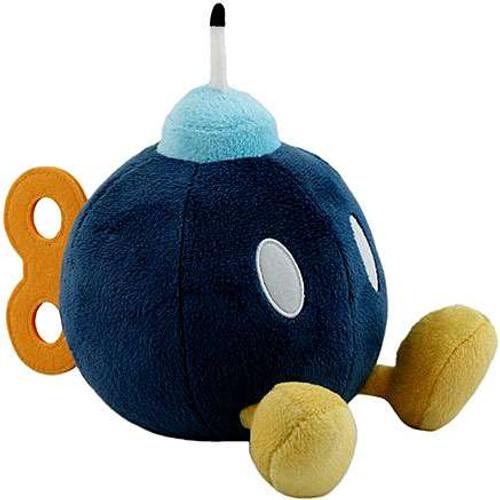 Super Mario Bob Omb 6-Inch Plush