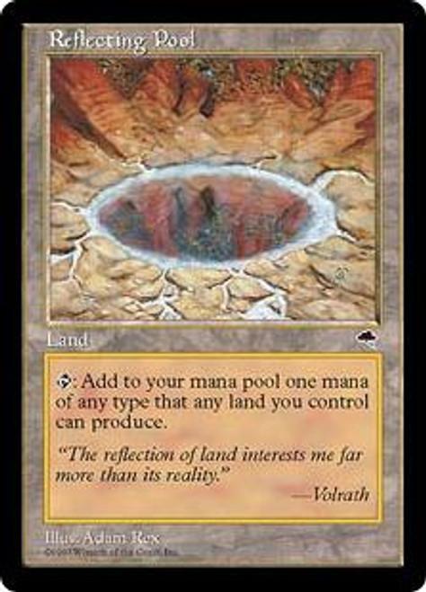 MtG Tempest Rare Reflecting Pool