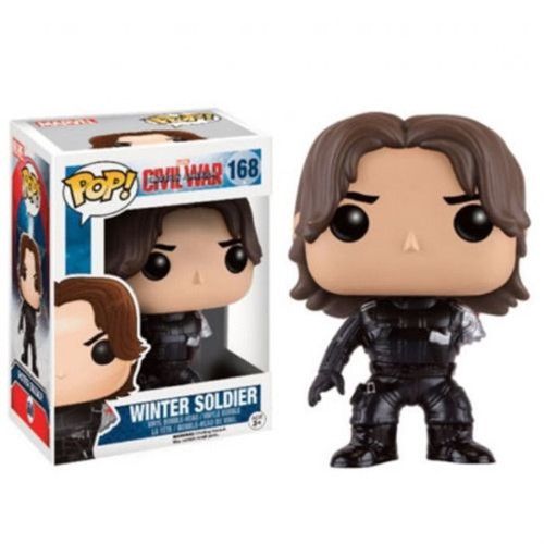 Funko Civil War POP! Marvel Winter Soldier Exclusive Vinyl Bobble Head #168 [Severed Arm]