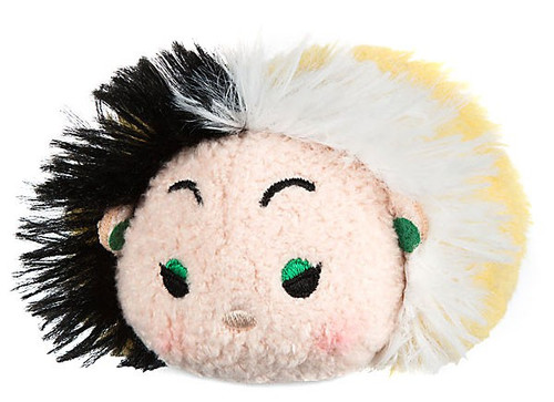 Disney 101 Dalmatians Tsum Tsum Cruella De Vil Exclusive 3.5-Inch Mini Plush [Version 2]