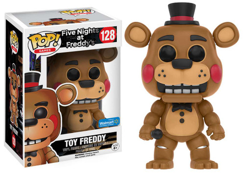 Funko Five Nights at Freddy's POP! Games Toy Freddy Exclusive Vinyl Figure #128