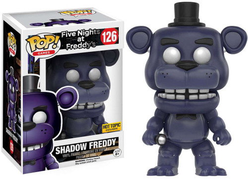 Funko Five Nights at Freddy's POP! Games SHADOW Freddy Exclusive Vinyl Figure #126
