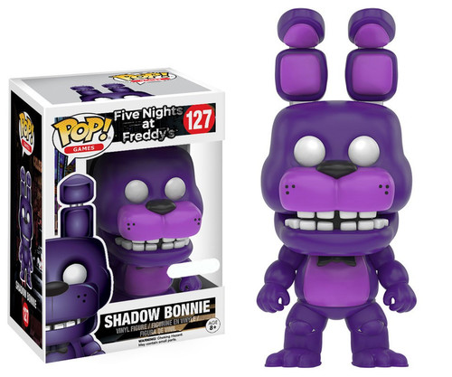 Funko Five Nights at Freddy's POP! Games SHADOW Bonnie Exclusive Vinyl Figure #127