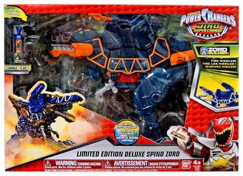Power Rangers Dino Super Charge Spino Zord Deluxe Action Figure [Limited Edition]