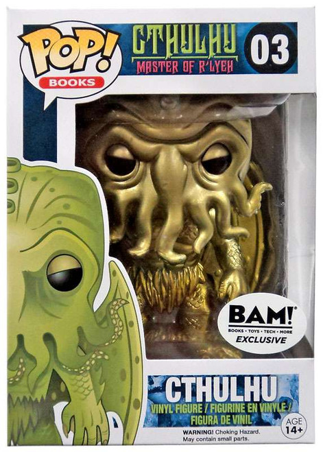Funko POP! Books Cthulhu Exclusive Vinyl Figure #03 [Gold]