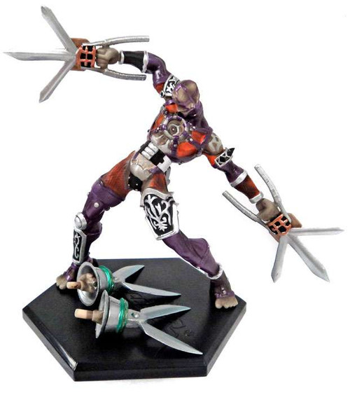 Soul Calibur III Game Character Collection Series 1 Voldo PVC Figure [2nd Colors]