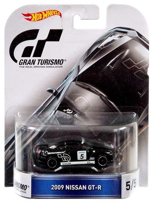 Hot Wheels Gran Turismo 2009 Nissan GT-R Die-Cast Car #5/5