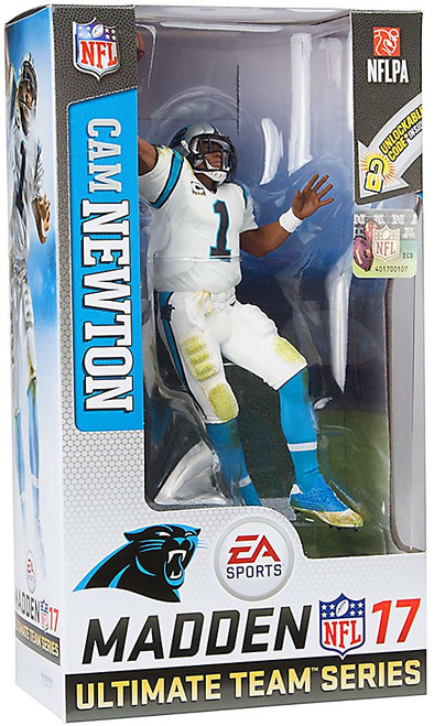 McFarlane Toys NFL Carolina Panthers EA Sports Madden 17 Ultimate Team Series 3 Cam Newton Action Figure [White Uniform]
