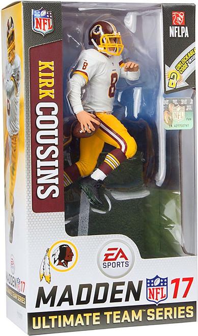 McFarlane Toys NFL Washington Redskins EA Sports Madden 17 Ultimate Team Series 3 Kirk Cousins Action Figure [White Jersey]