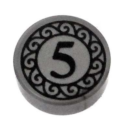LEGO Five Cent Piece [Round Tile Loose]
