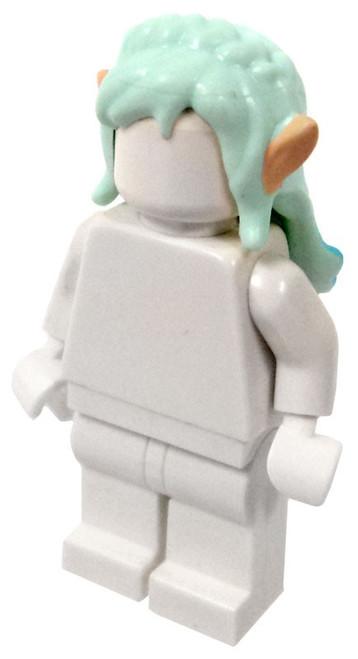 LEGO Light Blue Hair with Dark Blue Tips and Elve Ears Loose Hair [Loose]