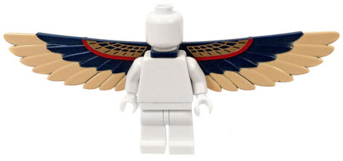 LEGO Blue and Tan Feathered Wings [Loose]