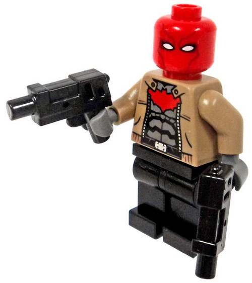LEGO DC Batman Red Hood Minifigure [With Guns Loose]