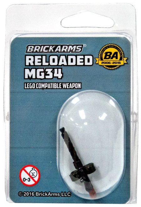 BrickArms MG34 Minifigure Accessory [Overmolded]