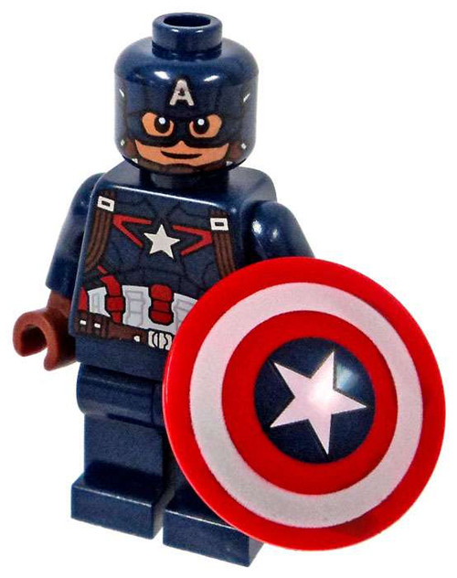 LEGO Marvel Super Heroes Captain America: Civil War Captain America Minifigure [Loose]