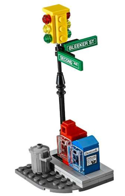 LEGO Marvel New York Street Corner Loose Item [Loose]