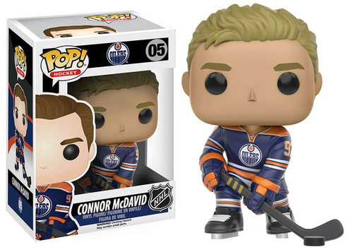 Funko NHL Edmonton Oilers POP! Sports Hockey Connor McDavid Vinyl Figure #05 [Blue Jersey]